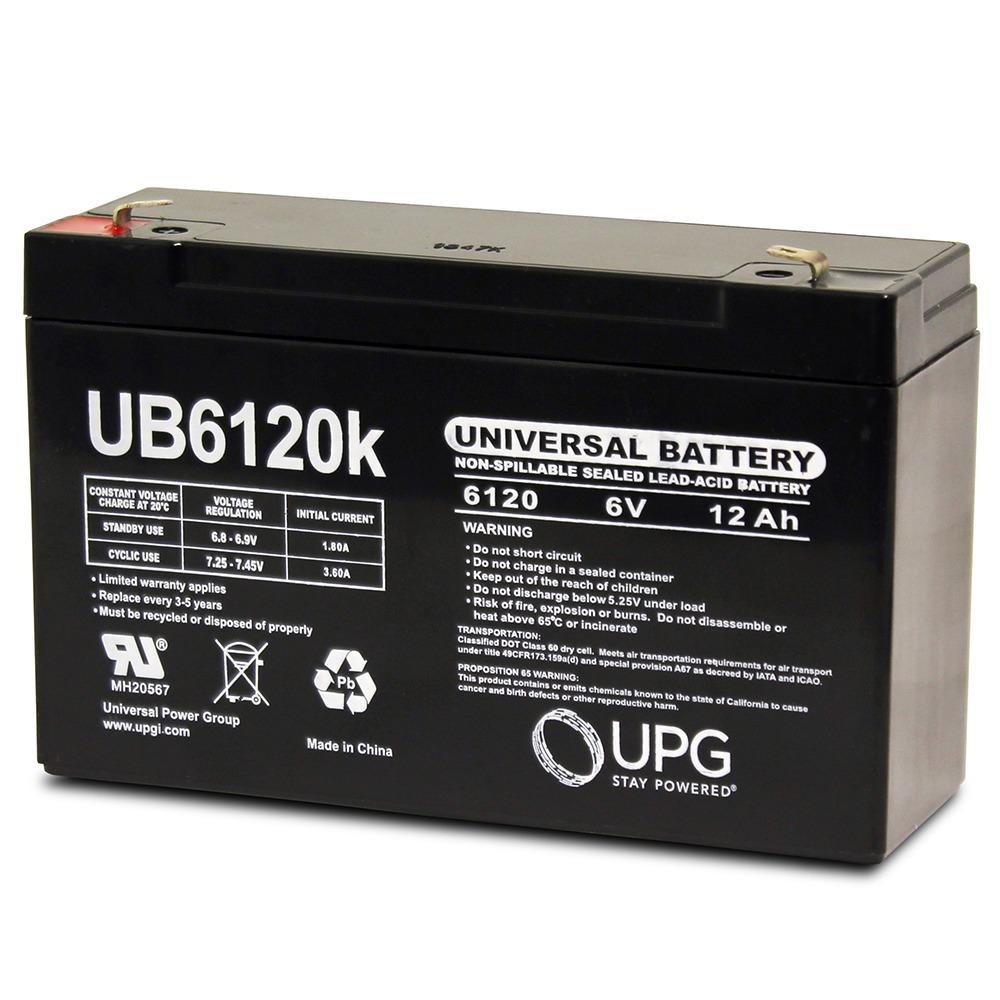 6V 12Ah UPS Battery for Eagle Picher CFM12V9L