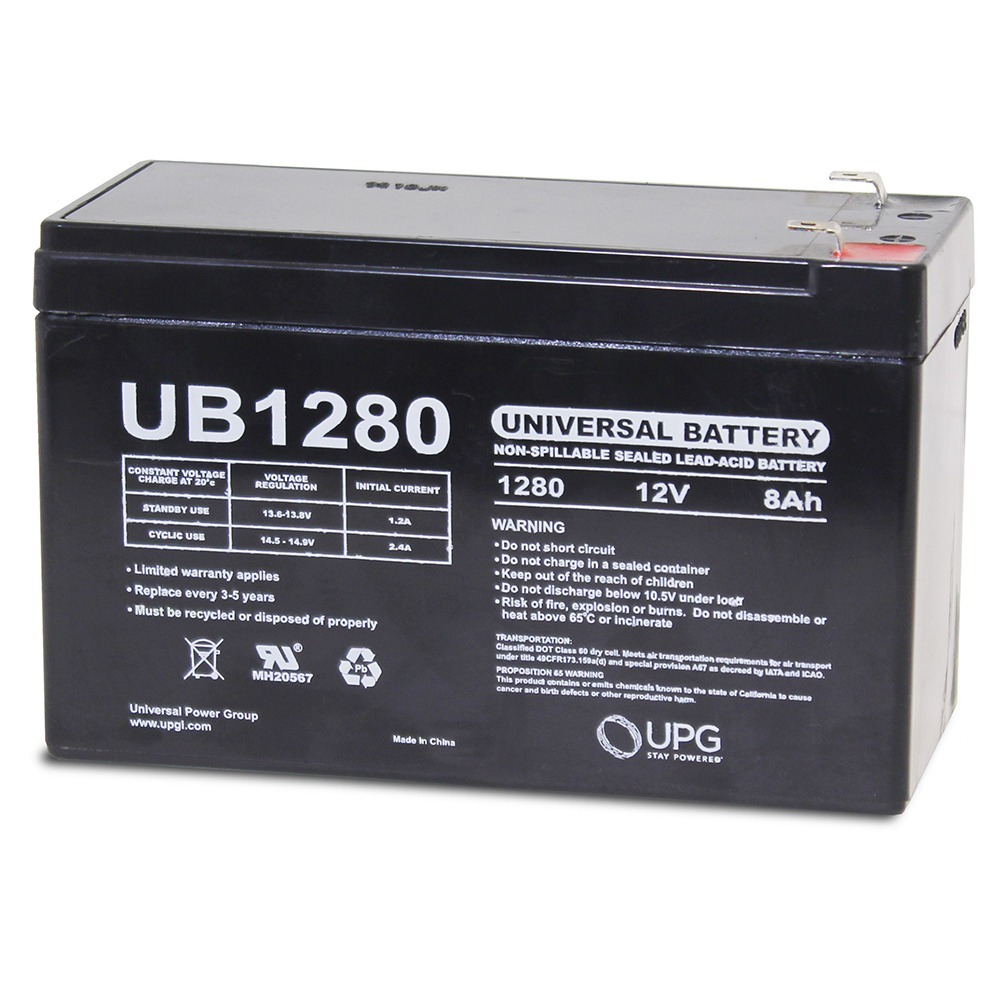 12V 8AH SLA Replacement Battery for ELSAR 148