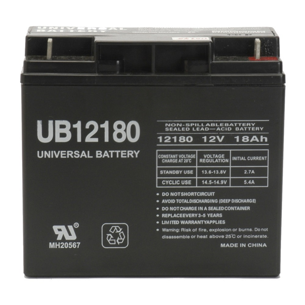 12V 18AH Sealed Lead Acid AGM Battery Replacement for UB12200