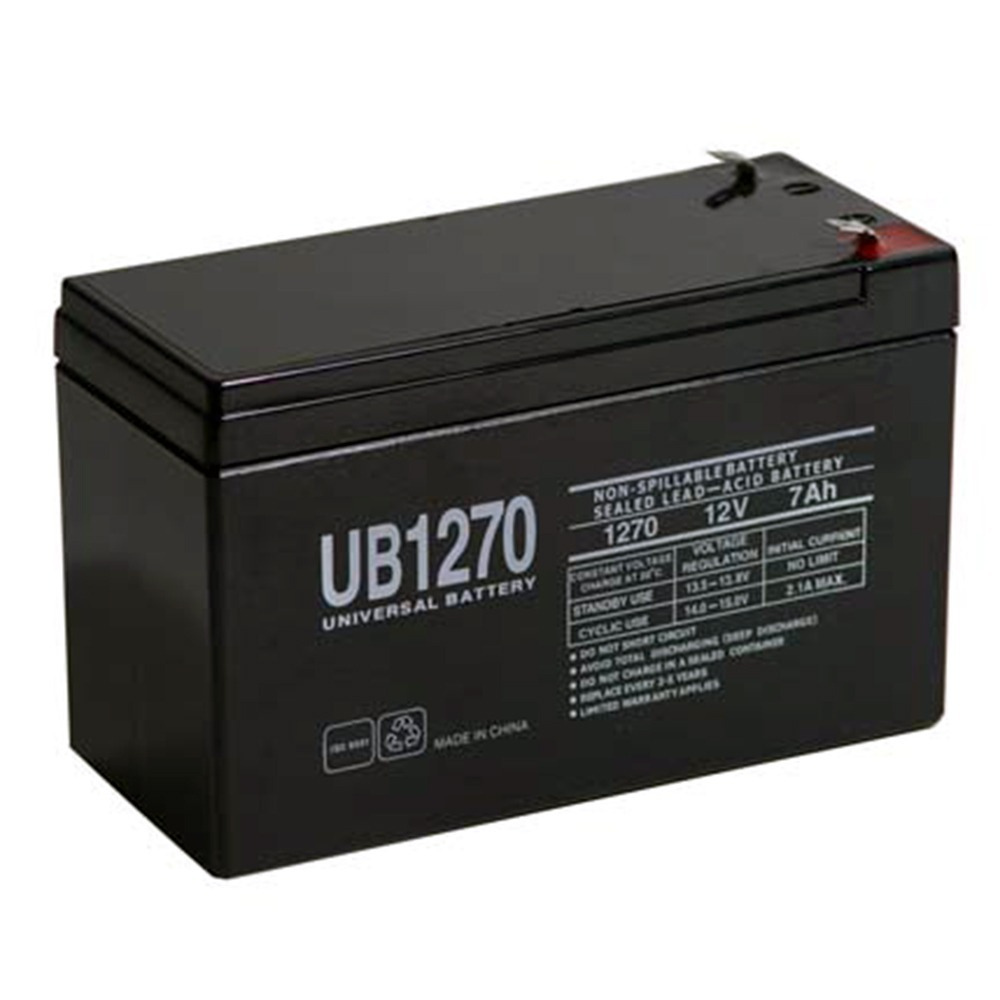 REPLACEMENT for GP1272 F2 GP 1272 BATTERY 12V 28W 7.2AH