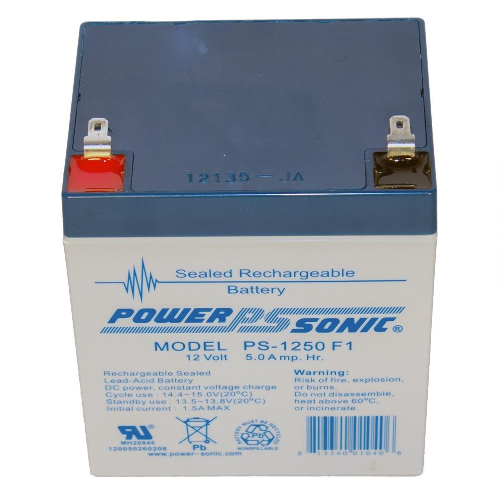 PS-1250 12V 5AH SLA Battery 12 VOLT