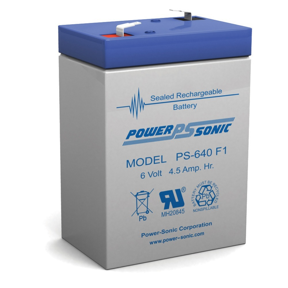 6V 4.5AH SLA Replacement Battery for Sure-Lites 6D3W