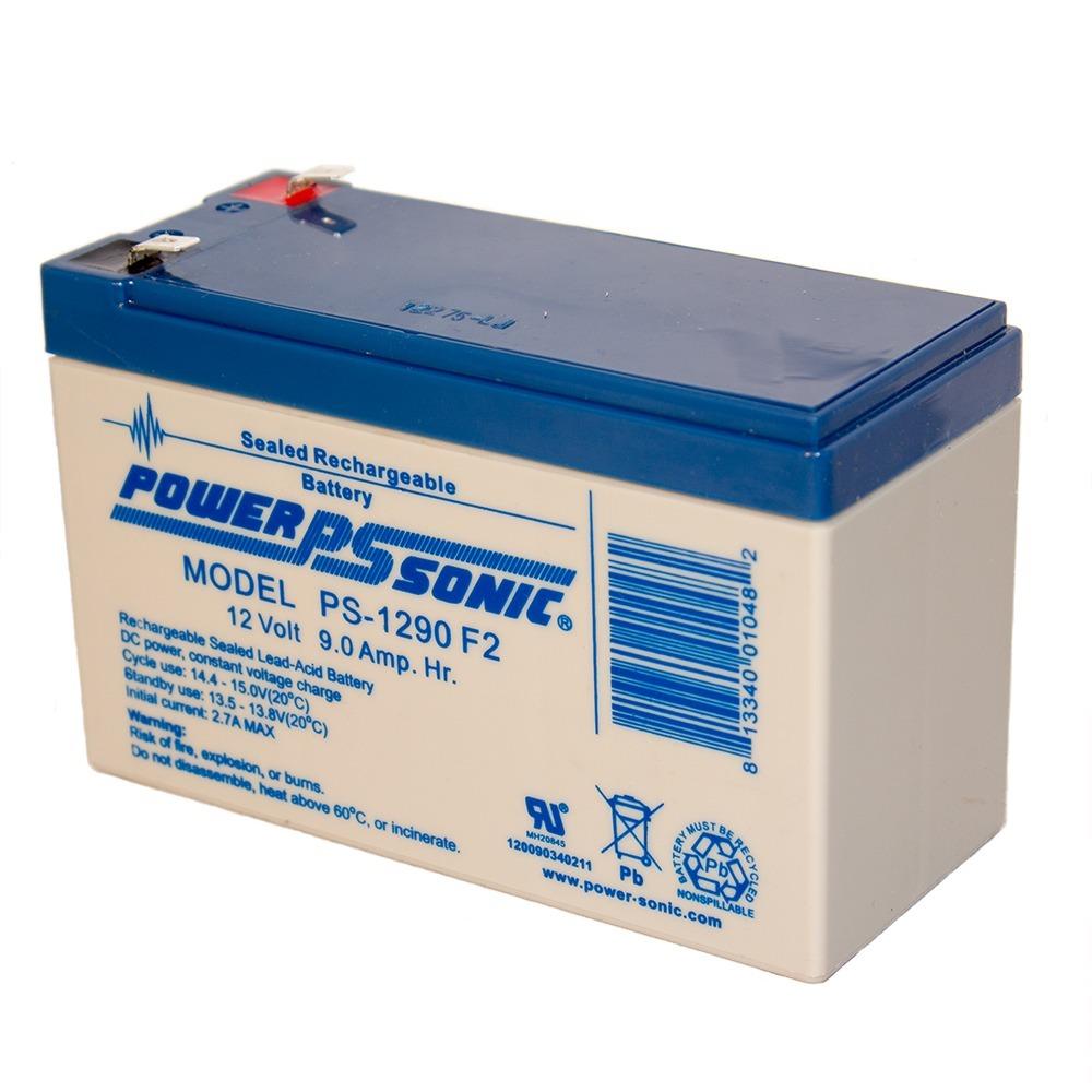 PS-1290 12 Volt 9 Amp Hour Rechargeable SLA Battery