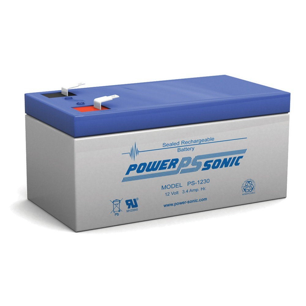 12V 3.4AH Sealed Lead Acid Battery for UB1234 Wheelchair Medical Mobility