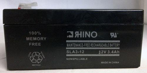 12V 3.4Ah SLA Battery 12 Volt