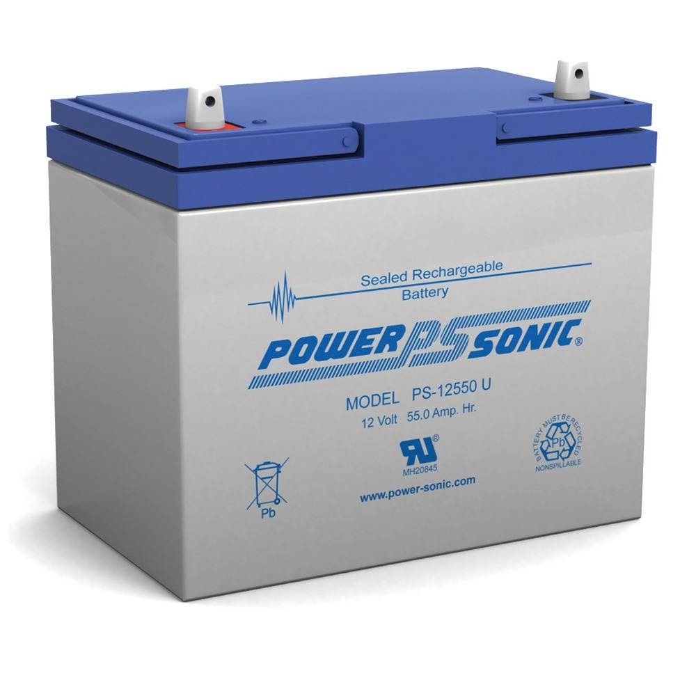 PS-12550  12V 55Ah SLA Battery