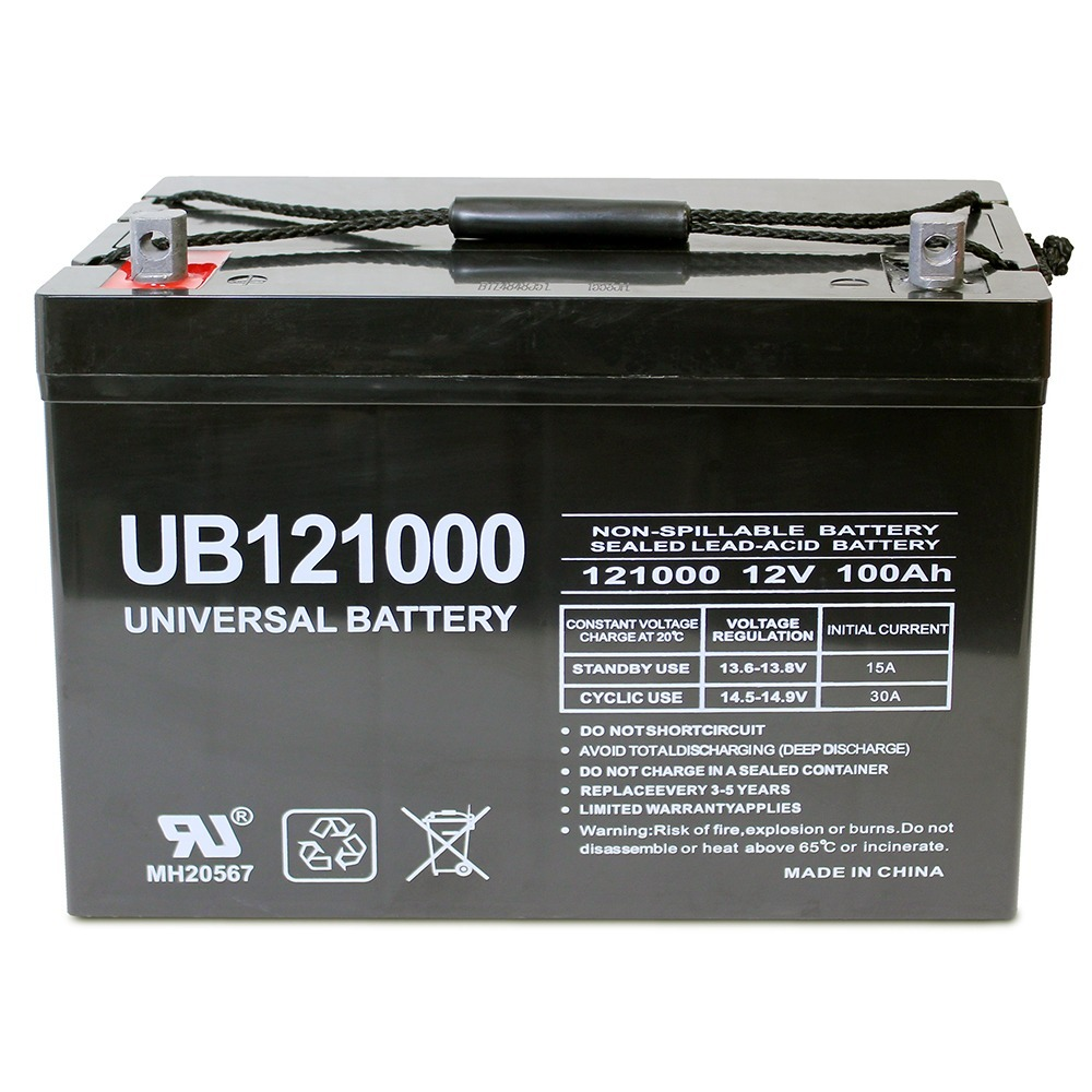 12V 100Ah SLA Battery Replacement for BB Battery MPL110-12