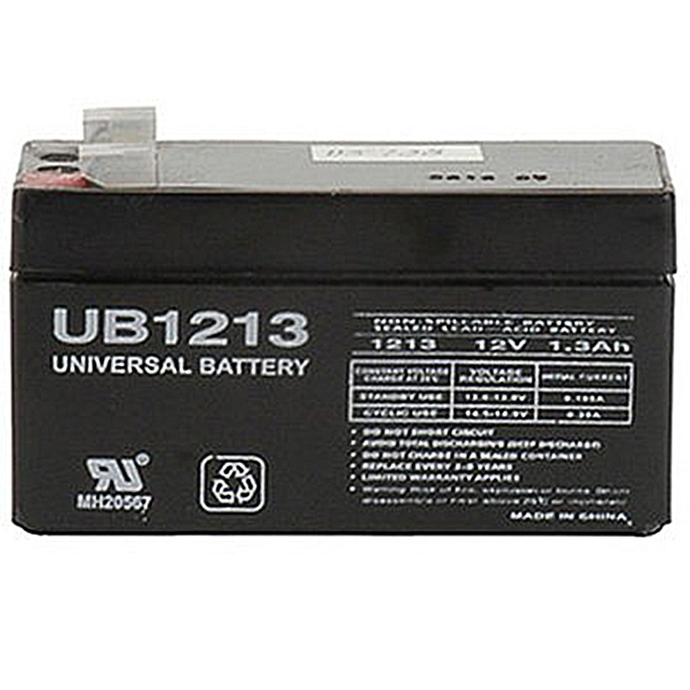 12v 1 3ah Sla Replacement Battery For