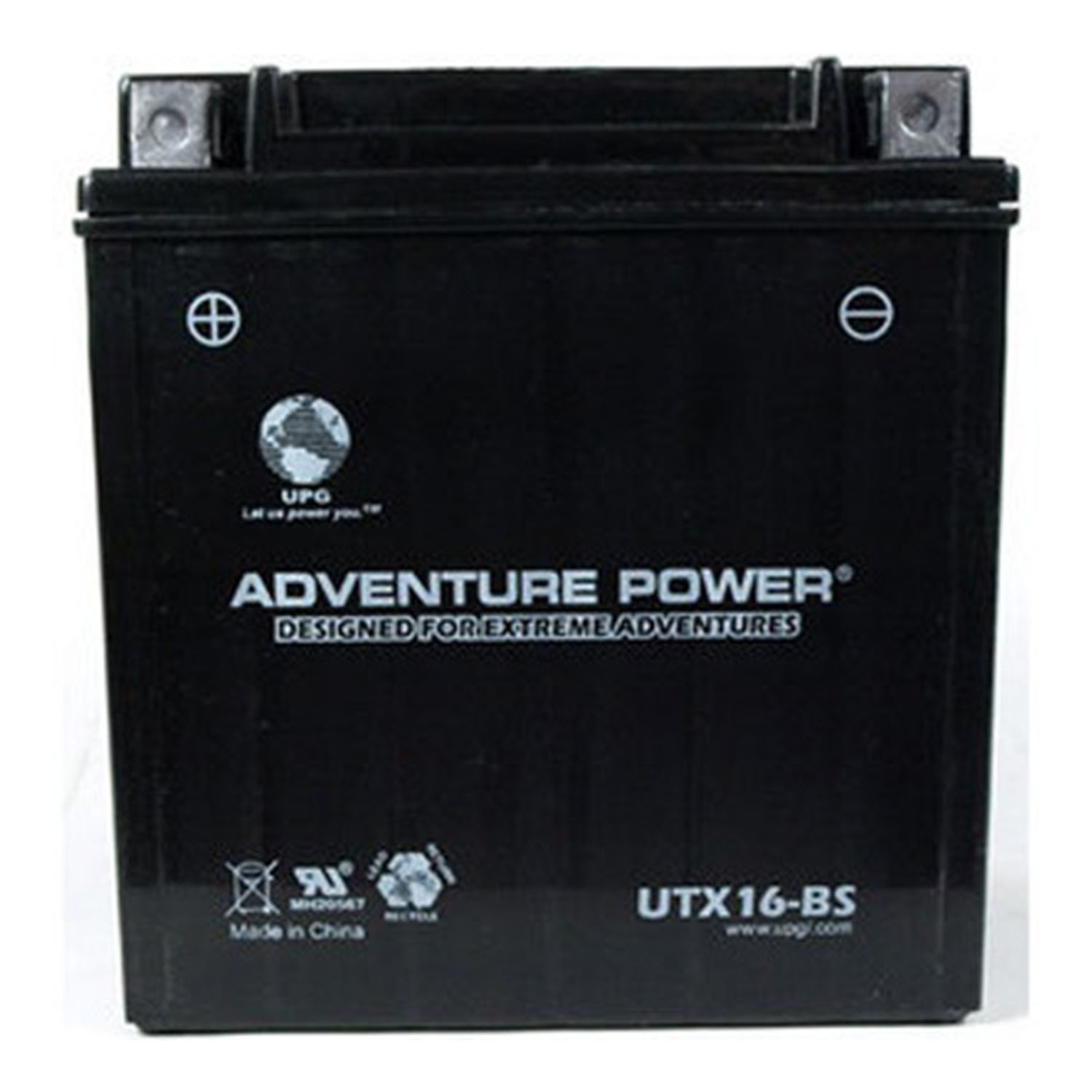 UTX16-BS - REPLACEMENT YTX16-BS - Dry Charge AGM 12 V 14Ah