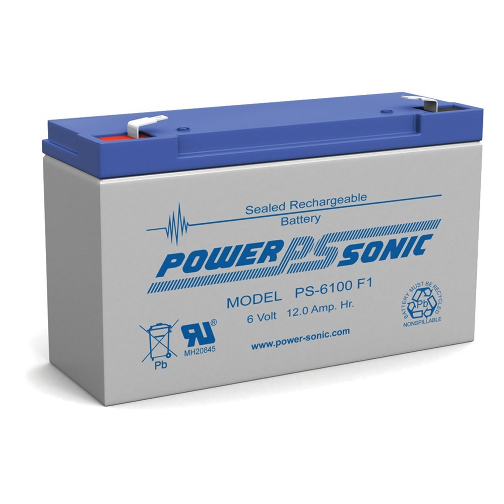 PS-6100 6V 12AH SLA Battery for TRIPP LITE OMNIVS 1000