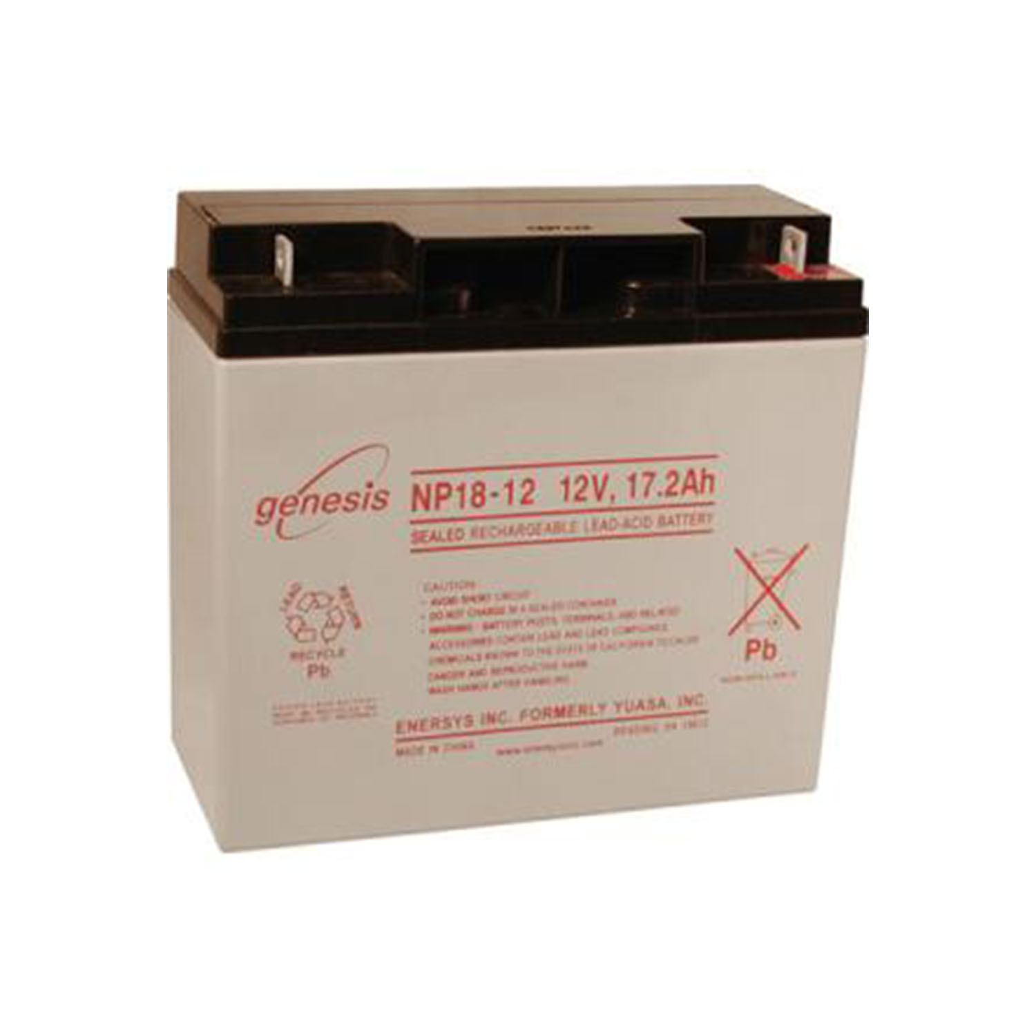 12V 18AH Bruno Typhoon C3 RWD SLA Sealed Lead Acid Battery