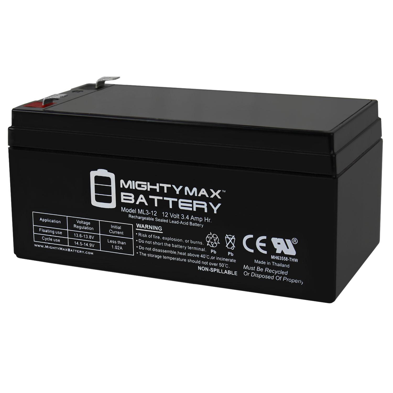 ML3-12 12V 3.4AH SLA Battery for Emergency Exit Lighting Systems