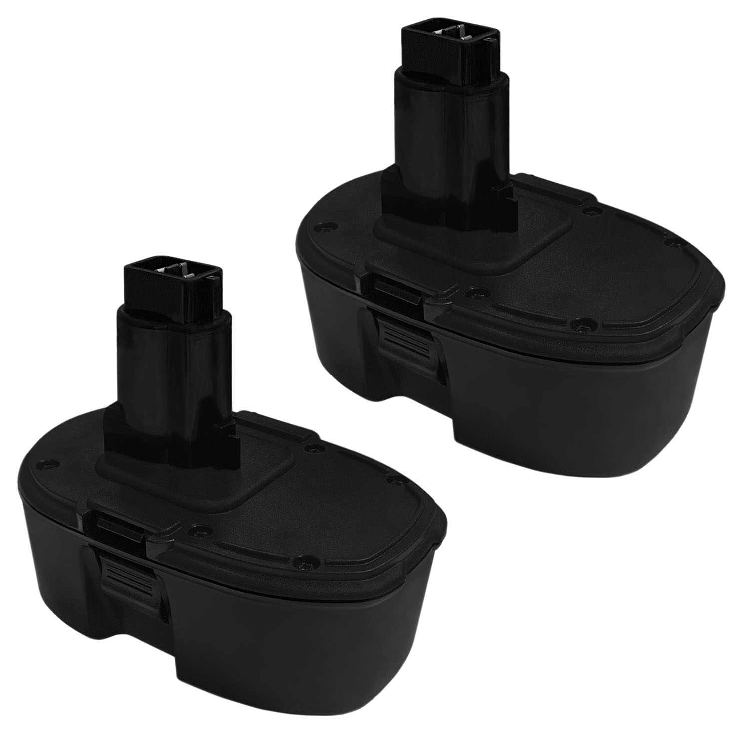 18V Ni-CD Replacement Battery For Dewalt DC330B DC330K DC330KA - 2 Pack