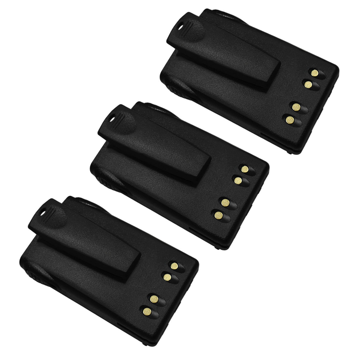 JMNN4023 Replacement Battery with CLIP for Motorola EX560 XLS - 3 Pack