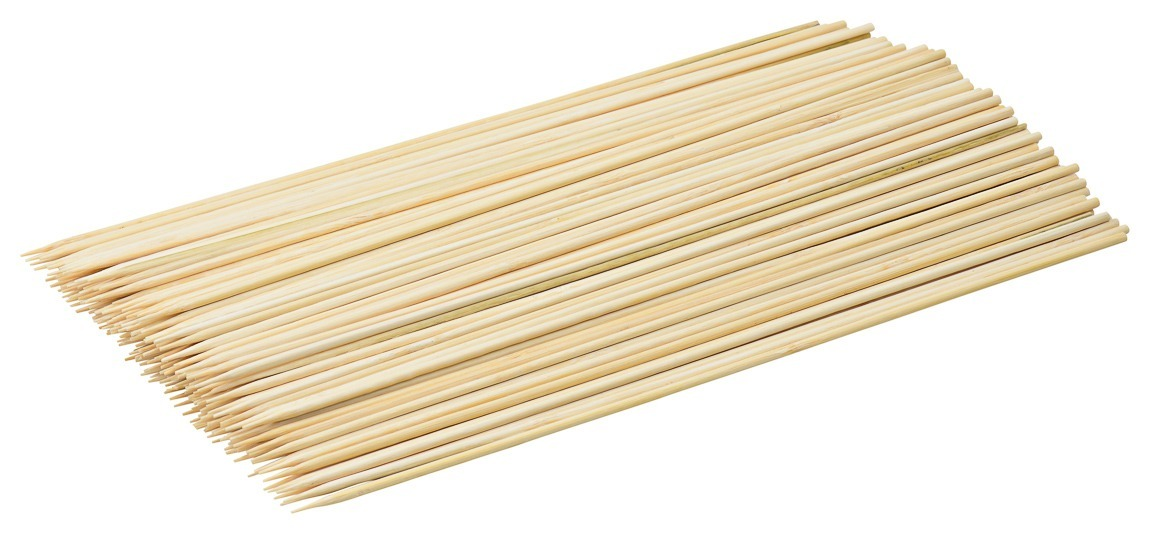 Blue Donuts (Pack of 200) Premium 12 inch Bamboo Skewers
