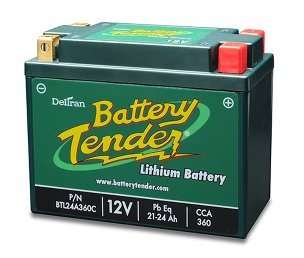 Lithium Iron Phosphate Battery 12V 24AH 360 CCA Engine Start
