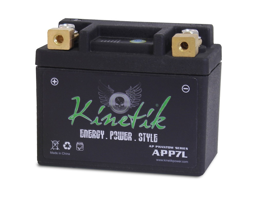 APP07L LiFePO4 12V 7-9ah 120CCA PowerSport Battery