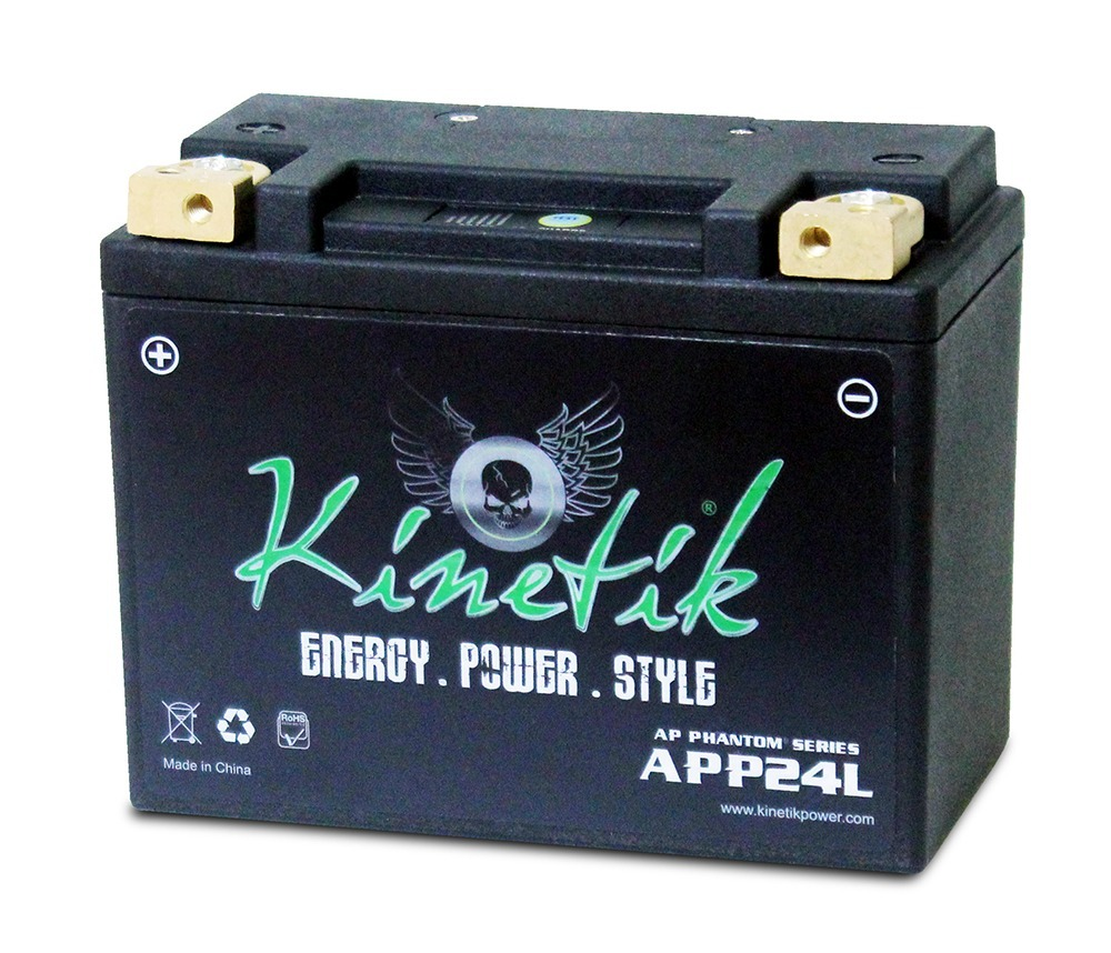 LiFePO4 12V 24-35ah 500,600 CCA PowerSport Battery