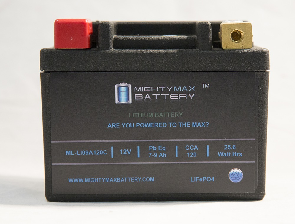 LiFePO4 12V 7-9ah Battery for Fancy Scooters Peace GS-810,GS-804 Moped