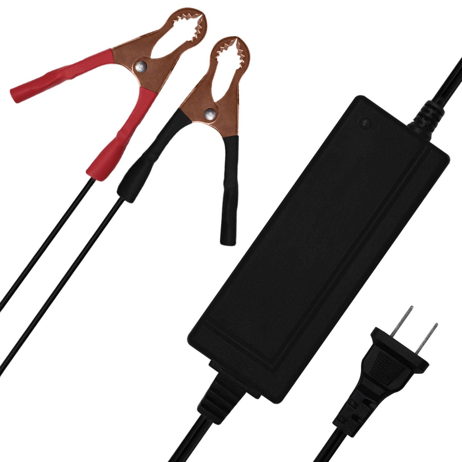 12V 2A CHARGER  MAINTAINER compatible with 12V 7AH Panasonic LC-R127R2P1