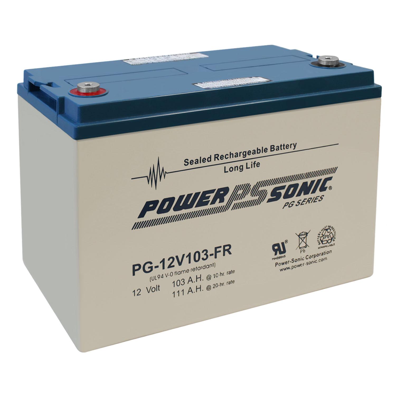 PG12V103-FR 12V 103AH Fire Rated SLA Solar Energy Station Battery