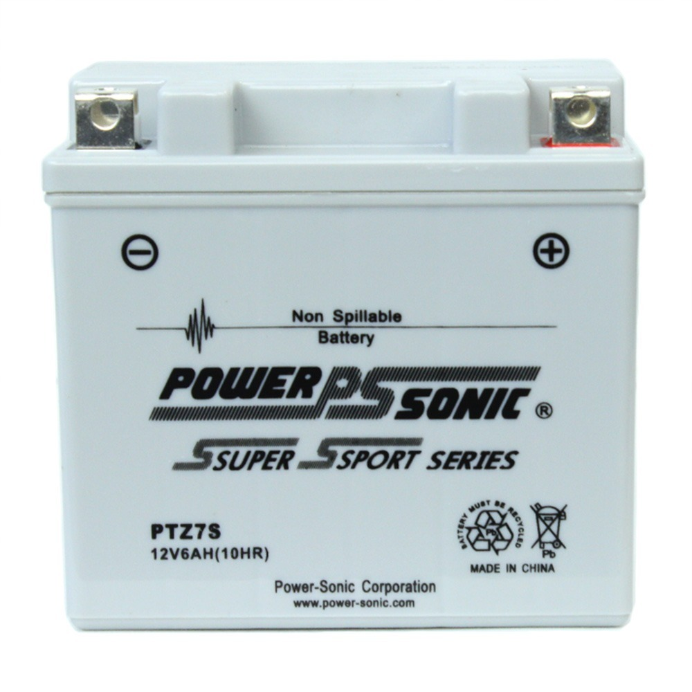 PTZ7S 12V 6AH Battery Replacement for Kymco 125 Agility 125 2016