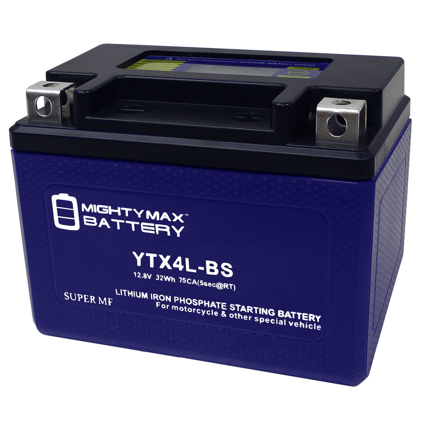 YTX4L-BS 12V 110CCA Lithium Iron Phosphate Battery