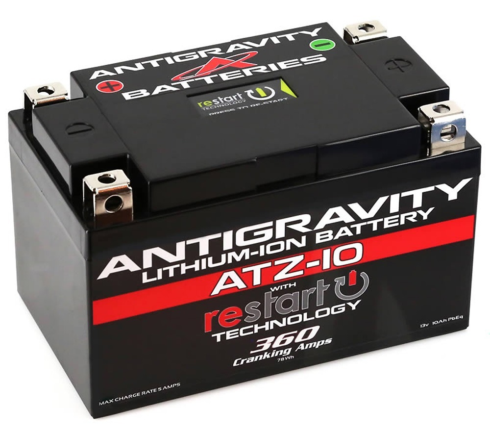 Antigravity Re-Start ATZ10-RS Lithium Battery 12V 360CA with Restart Technology
