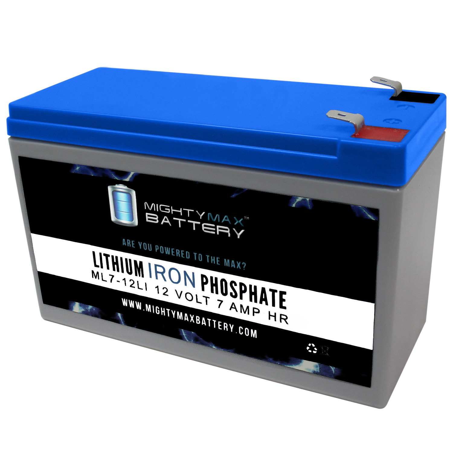 12V 7AH Lithium Replacement Battery compatible with Power Patrol FAS1075