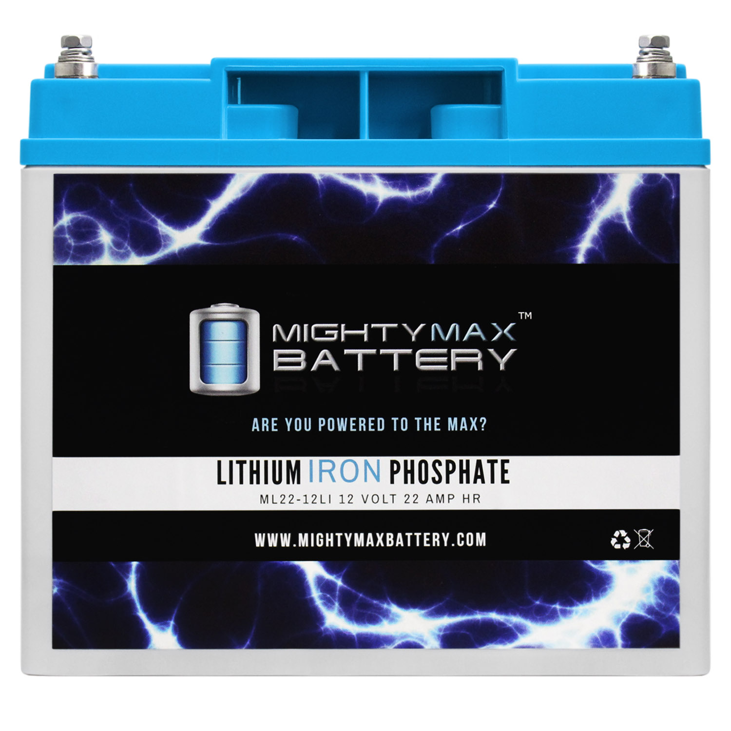12V 22AH Lithium Replacement Battery compatible with Power Patrol SLA0156