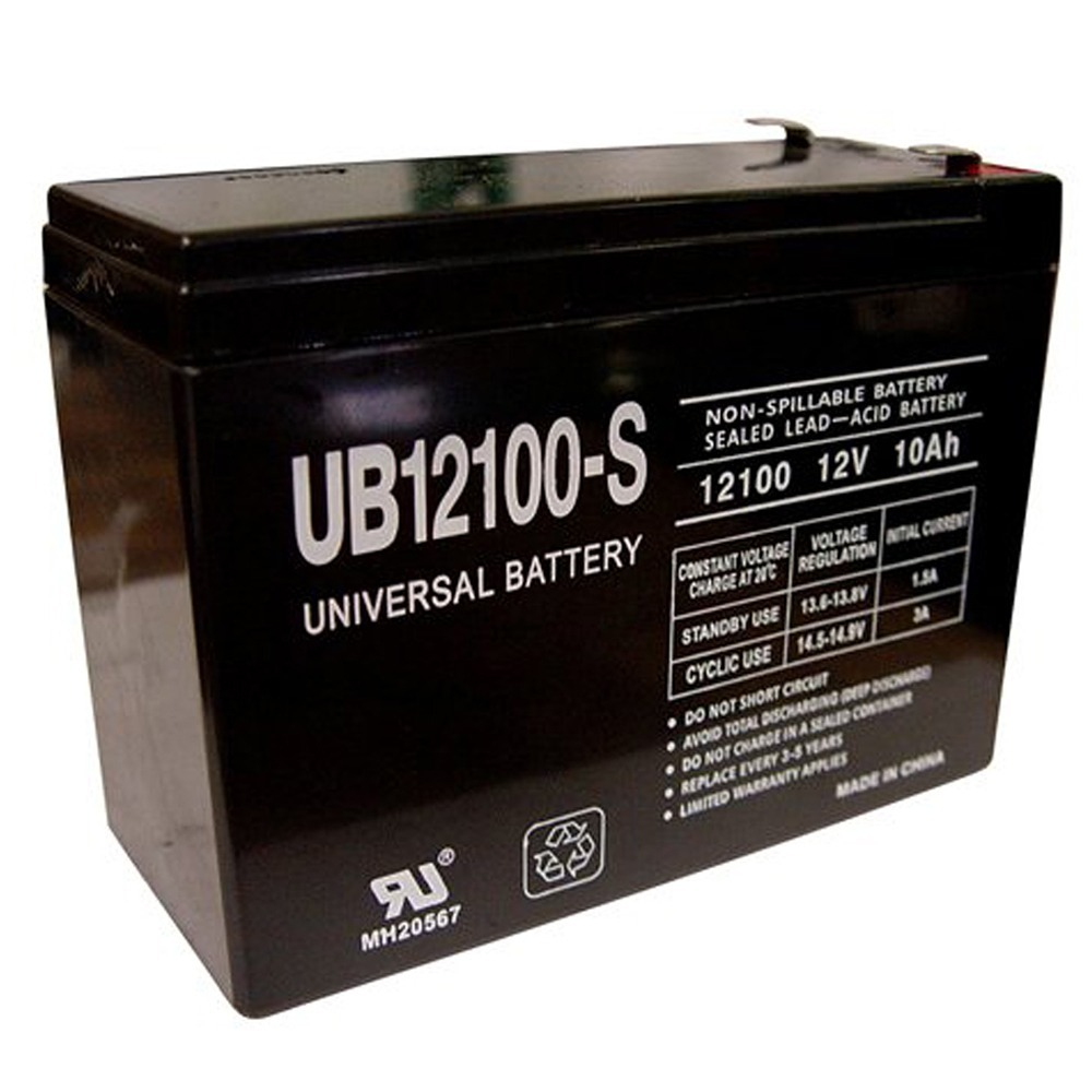 12V 10AH Mongoose M200 (2005, 2004, 2003 and older) Scooter Battery