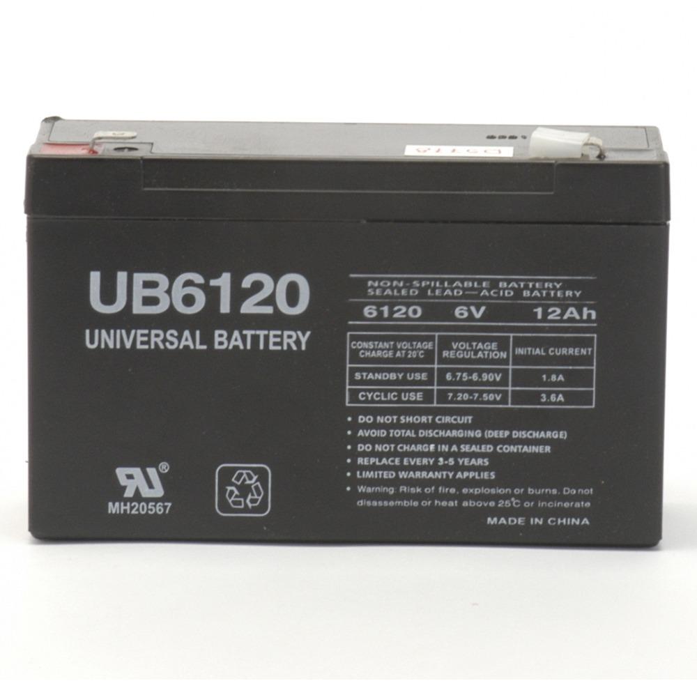 6 volt 12ah SLA Battery